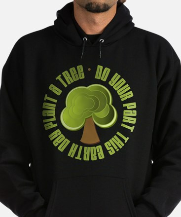 Plant a Tree Earth Day Hoodie (dark)