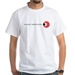RADIO MERCUR Denmark/Sweden - White T-Shirt