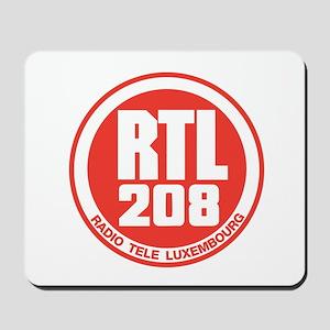 RADIO LUXEMBOURG 1980S -  Mousepad