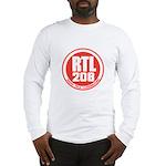 RADIO LUXEMBOURG 1980S -  Long Sleeve T-Shirt