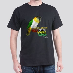 Black Headed Caique Dark T-Shirt