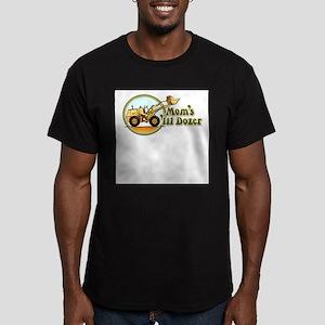 Mom's Lil Dozer - Men's Fitted T-Shirt (dark)
