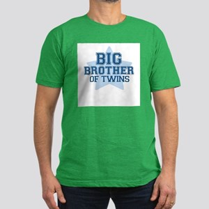 Big Brother of Twins - Men's Fitted T-Shirt (dark)