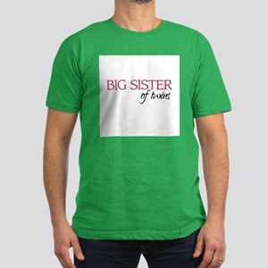 Big Sister of Twins - Men's Fitted T-Shirt (dark)