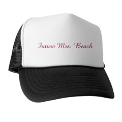 Future Mrs. Beach Trucker Hat