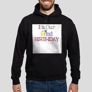 It's Our 2nd Birthday - Hoodie (dark)