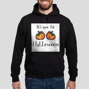 Our 1st Halloween - Hoodie (dark)