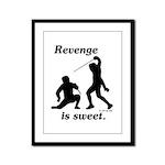Revenge Framed Panel Print