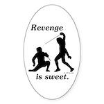 Revenge Oval Sticker (50 pk)