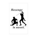 Revenge Rectangle Sticker 50 pk)