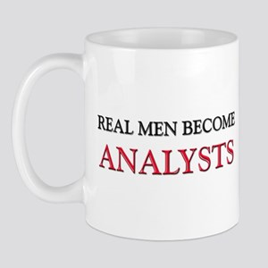 Real Men Become Analysts Mug