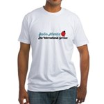 RADIO ATLANTIS Netherlands/UK Fitted T-Shirt