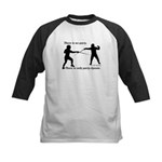 Parry-Riposte Kids Baseball Jersey