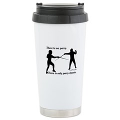 Parry-Riposte Stainless Steel Travel Mug