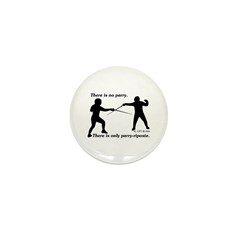 Parry-Riposte Mini Button (100 pack)