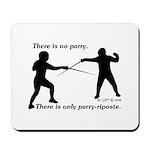 Parry-Riposte Mousepad