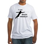 Magic Missile Fitted T-Shirt