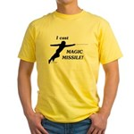 Magic Missile Yellow T-Shirt