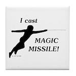 Magic Missile Tile Coaster