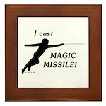 Magic Missile Framed Tile