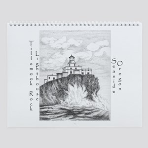 Tillamook Rock Lighthouse Wall Calendar