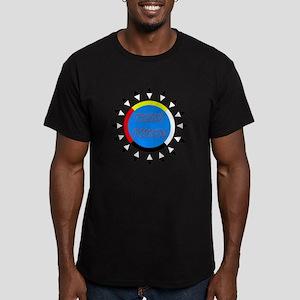 Tohono O'Odham Men's Fitted T-Shirt (dark)