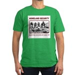 Homeland Security Native Pers Men's Fitted T-Shirt