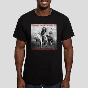 NDN Warriors Homeland Securit Men's Fitted T-Shirt