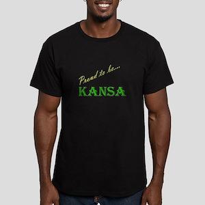 Kansa Men's Fitted T-Shirt (dark)