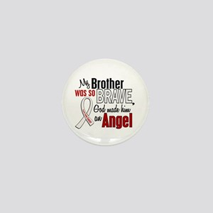 Angel 1 BROTHER Lung Cancer Mini Button