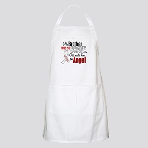 Angel 1 BROTHER Lung Cancer BBQ Apron