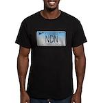 Connecticut NDN Men's Fitted T-Shirt (dark)