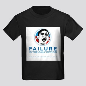 Failure IS the Only Option Kids Dark T-Shirt