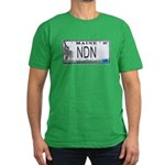 Maine NDN Pride Men's Fitted T-Shirt (dark)