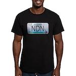 Missouri NDN license plate Men's Fitted T-Shirt (d