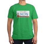 Navajo Nation NDN plate Men's Fitted T-Shirt (dark