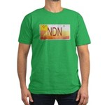 New Mexico NDN Pride Men's Fitted T-Shirt (dark)