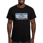 New York NDN Men's Fitted T-Shirt (dark)