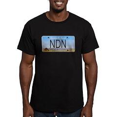 North Dakota NDN Pride Men's Fitted T-Shirt (dark)