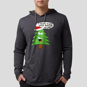 Christmas Tree Harassment Long Sleeve T-Shirt