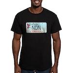 Virginia NDN Men's Fitted T-Shirt (dark)