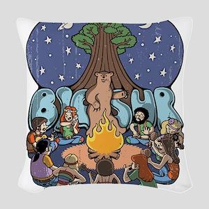 Big Sur 417 Woven Throw Pillow
