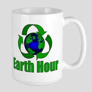 Earth Hour Large Mug