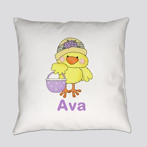 Ava's Sweet Chick Everyday Pillow