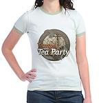Tampa Tax Day Tea Party Jr. Ringer T-Shirt