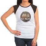 Tampa Tax Day Tea Party Women's Cap Sleeve T-Shirt