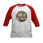 Tampa Tax Day Tea Party Kids Baseball Jersey