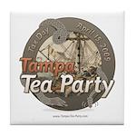 Tampa Tax Day Tea Party Tile Coaster