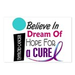BELIEVE DREAM HOPE Thyroid Disease Postcards (Pack