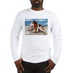 Bewinged Basset Long Sleeve T-Shirt